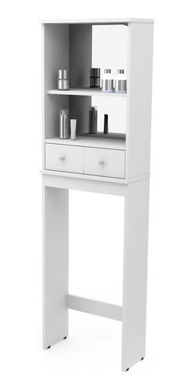 Mueble Organizador De Baño Sin Espejo Promo 6 Cuotas S/int