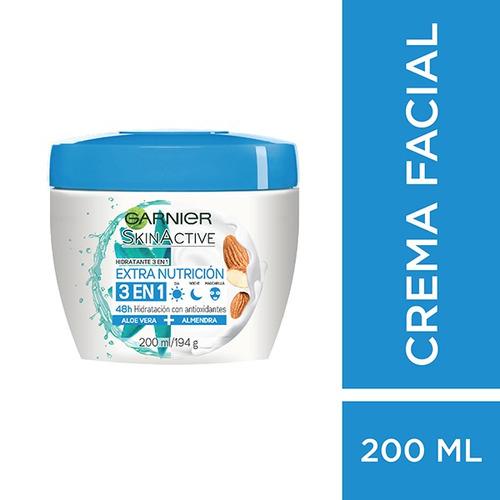 Crema Facial Garnier Skin Active Extra Nutrición X 200 Ml