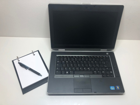 Notebook Dell E6430 I5 8gb 256gb + Leitor Biométrico + Nf + Garantia + Brinde