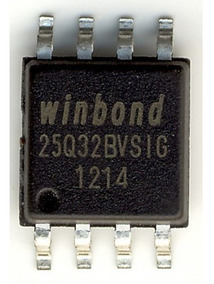 Winbond 25q32bvsig Sop8 25q32 25q32bv W25q32bvsig - Virgem