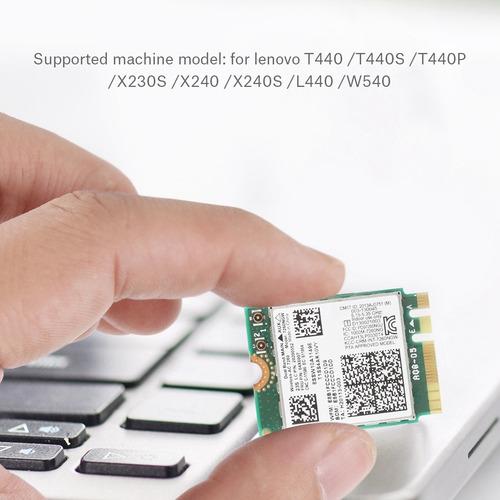 Placa De Rede Sem Fio De Banda Dupla Para Intel 7260ac 867mb