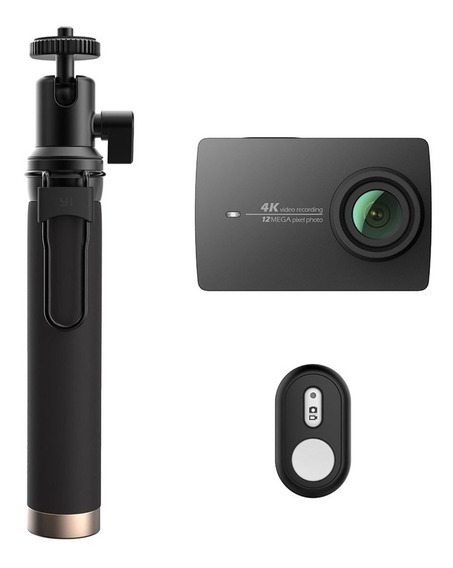 Câmera Xiaomi Yi 2 4k 12mp Original + Bluetooth Selfie Stick
