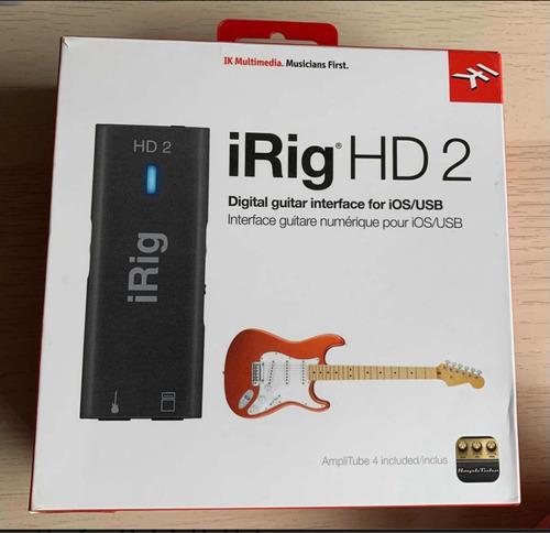 Imagen 1 de 4 de Irig Hd2 Como Nuevo En Caja Interfaz Audio Digital Ios Pc Mc