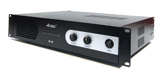 Potencia Apogee H4 150w + 150w 4ohms Amplificador