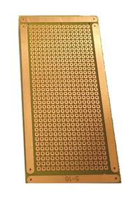 Placa Perfurada Ilhada 5x10cm Universal Padrão Para Pci Pcb
