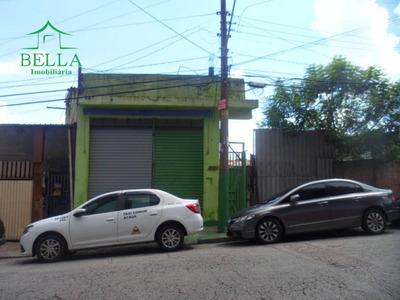 Salão Comercial Mais 2 Casinhas Nos Fundos - Venda - Sl0192