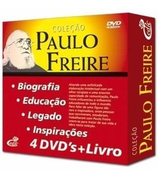 Coleção Grandes Educadores Paulo Freire 4 Dvd