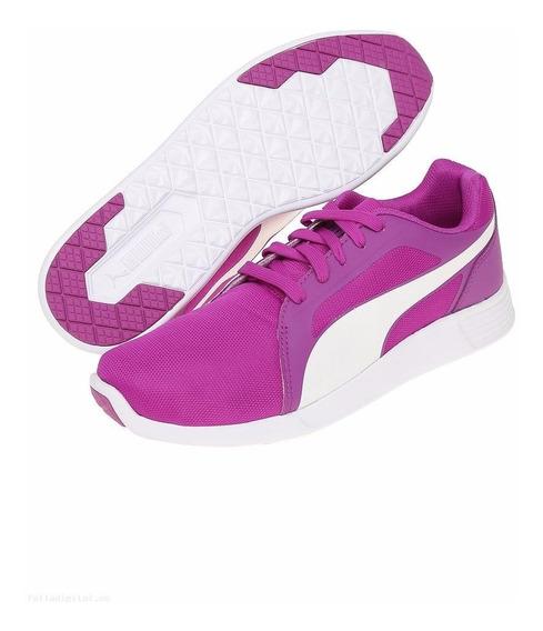 Tenis De Mujer Puma 359904 07 St Trainer Evo Morado Entrenar
