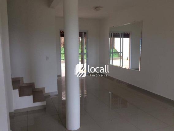 Casa Com 3 Dormitórios Para Alugar, 70 M² Por R$ 1.750/mês - Giardino - São José Do Rio Preto/sp - Ca2047
