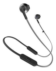 Fone De Ouvido Jbl Tune 205bt Bluetooth Preto Original + Nfe