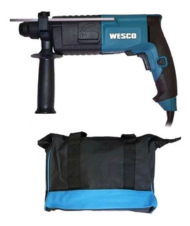 Martelete Rotativo Impacto 620w Ws3160k Wesco - 48 Peças