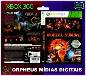 Mortal Kombat Xbox 360 Original - Mídia Digital