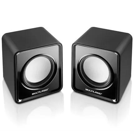 Caixa De Som Mini 2.0 3w Rms Usb Sp144 Multilaser