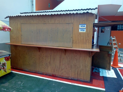 Kiosco Estructura De Madera