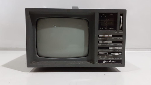 Tv Broksonic De 5 Polegada Mod: Ctre864 No Estado