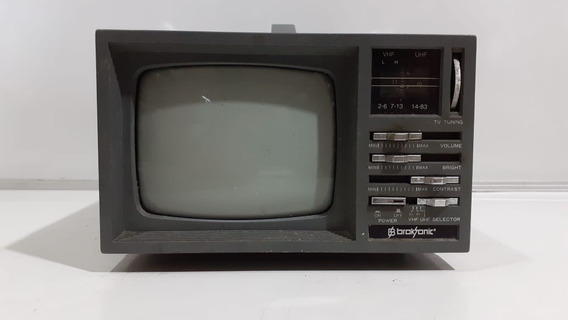 Tv Broksonic De 5 Polegada Mod: Ctre864 No Estado