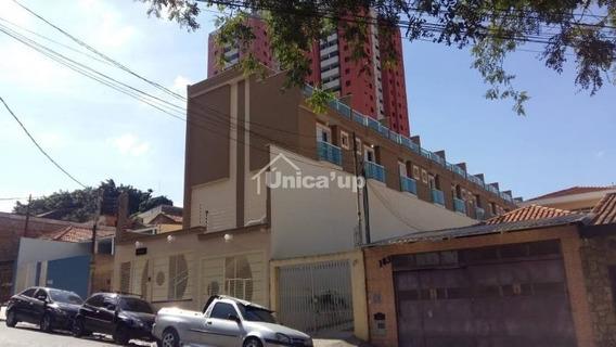 Sobrado Em Condomínio Para Venda No Bairro Vila Esperança, 2 Dorm, 2 Suíte, 1 Vagas, 55 M - 5588
