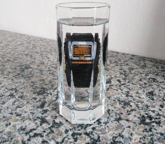 Relógio Aqua Aq37 À Prova D