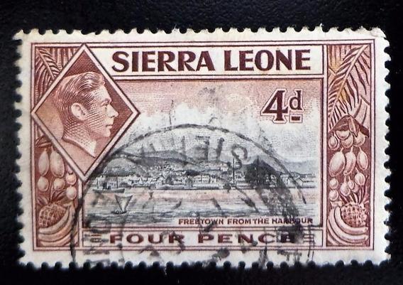 Sierra Leona Barcos Sello Sc 178 Ordinario 1938 Usado L10302