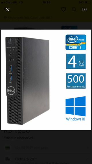 Dell Optiplex Mini 3050 8 Gb Ram Core I5 +!monitor Dell19