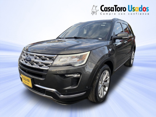 Ford Explorer Limited Wag At Gsl 2018 2300cc