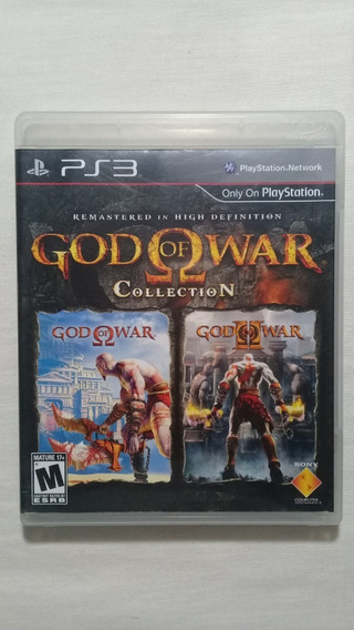 God Of War Collection Ps3 Completo Americano
