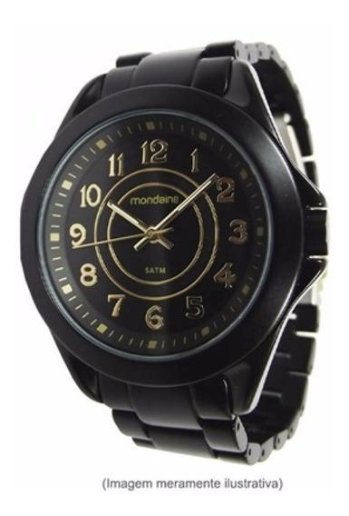 Relógio Feminino Mondaine Black