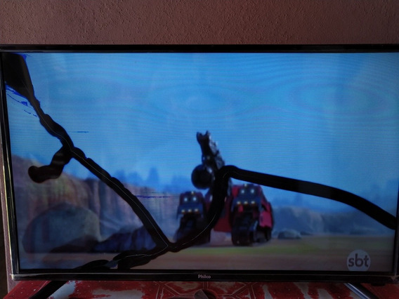 Smart Tv Philco 28 Polegadas Ph28n91dsgwa-tela Quebrada