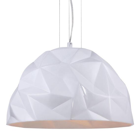 Pendente Origami Para Mesa Resina Ø40x25cm 1*e27 Op038 Bella