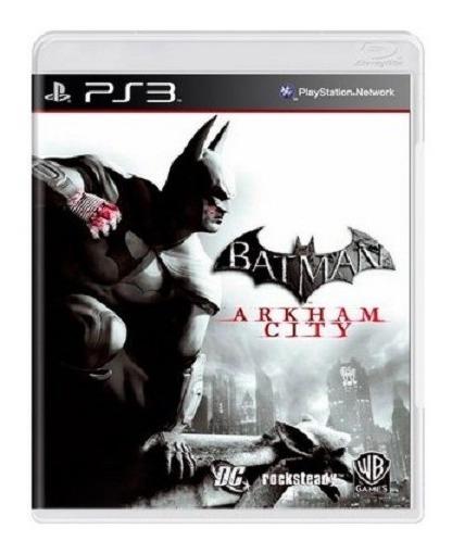 Ps3 - Batman Arkam City - Midia Fisica (original)