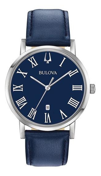 Relógio Bulova American Clipper Quartz 96b295 Masculino