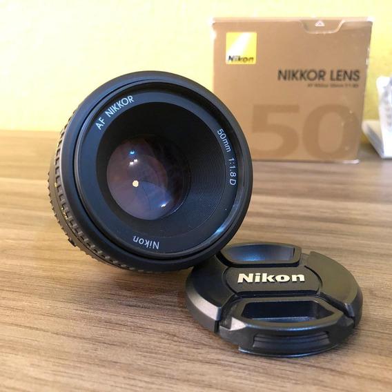 Lente Nikon Af 50mm F/ 1.8d