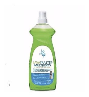 Lava Trastes Multiusos Concentrado Biodegradable 840ml Sheló
