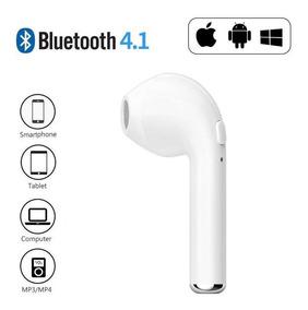 Fone Ouvido S/ Fio Bluetooth I7 Mono Airpod iPhone E Android