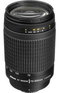 Lente Nikon Af Nikkor 70-300mm F/4-5.6g