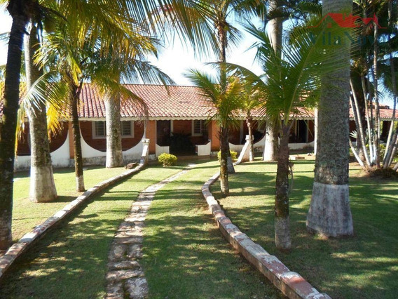 Chácara Com 5 Dormitórios À Venda, 3050 M² Por R$ 1.060.000 - Colinas Do Mosteiro De Itaici - Indaiatuba/sp - Ch0076