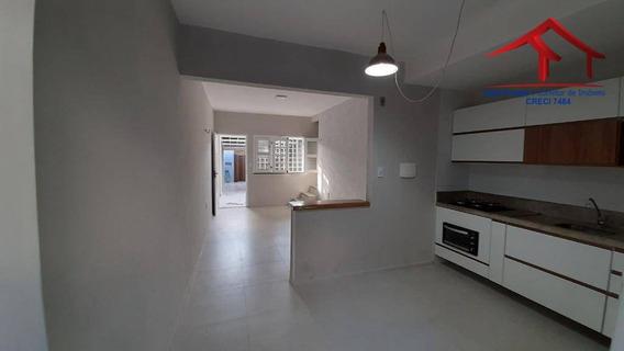 Casa Com 02 Quartos, Vizinho Ao Deposito Do Super Do Povo - Ca0093