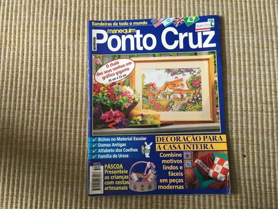 Revista Manequim Ponto Cruz 50 Quadros Páscoa Toalha L601