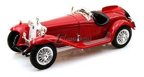 Miniatura Alfa Romeo 8c 2300 Spider Touring Bburago 1/18