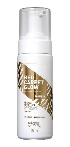 Skelt Red Carpet Glow - Mousse Autobronzeador 140ml Blz