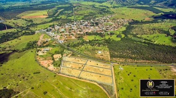 Lotes Parcelados Bella Vista Marzagão - Lote A Venda No Bairro Go 139 A 25 Km De Caldas Novas - Marzagão, Go - Yh12195