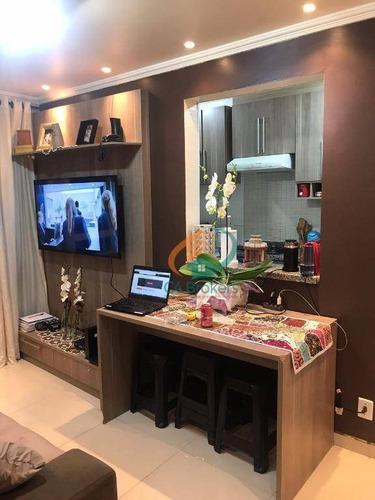 Imagem 1 de 17 de Apartamento Com 2 Dormitórios À Venda, 44 M² Por R$ 235.000,00 - Ponte Grande - Guarulhos/sp - Ap2523