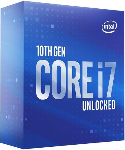 Imagem 1 de 4 de Core I7-10700k 10ª Geração 8 Núcleos Processador Desktop