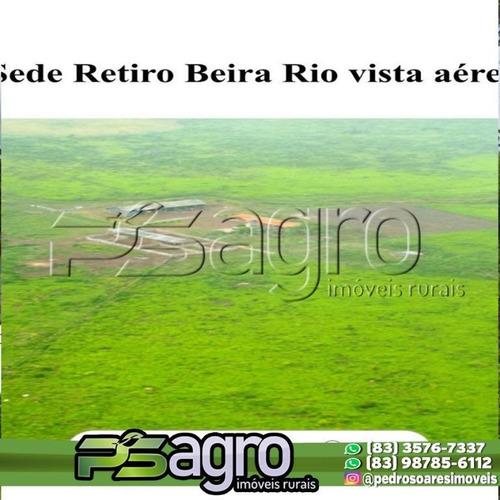 Imagem 1 de 16 de Fazenda À Venda, 65000 Hectares Por R$ 190.000.000 - Zona Rural - São Félix Do Xingu/pa - Fa0156
