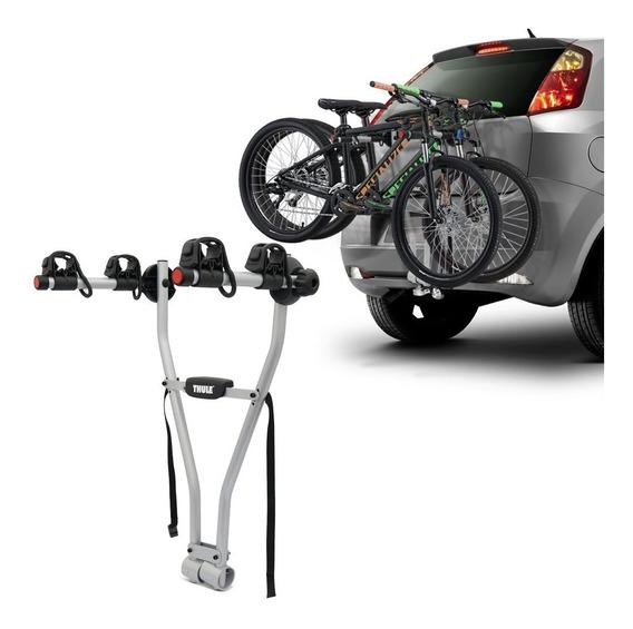 Suporte Transbike Thule Xpress 970 Prata Para 2 Bikes