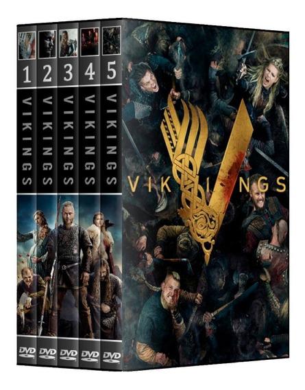 Vikings - 1° A 5° Temporada Em Dvd [ Dual Audio ]
