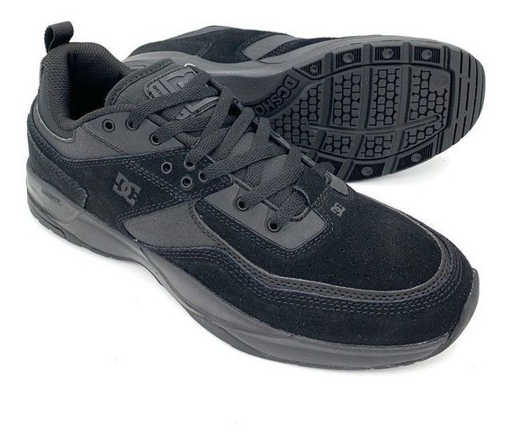 Tênis Dc Shoes E. Tribeka Black Preto Importado
