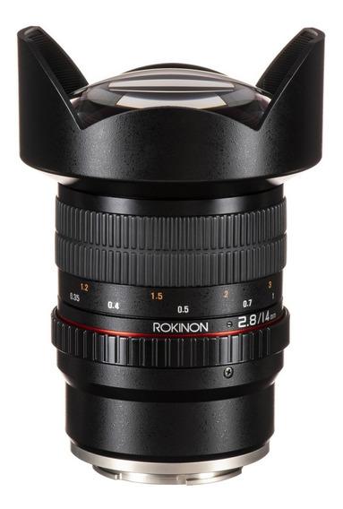 Rokinon 14mm Fe Sony E-mount - Fullframe Sony A7iii A7sii