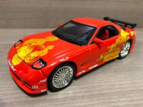 Miniatura Velozes Furiosos Mazda Rx7 1:24