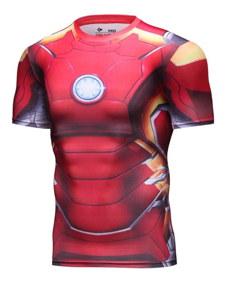 Playera Ironman Compresion Avengers Endgame Marvel